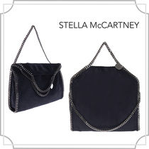 関税込/Falabella fold over tote〜/navy blue/Stella McCartney