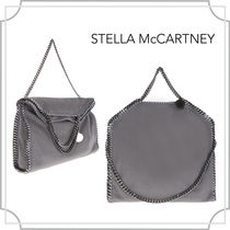 関税込☆Falabella fold over tote〜☆grey☆Stella McCartney