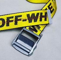 Off-White_正規品 Industrial Belt 105cm / 17ss