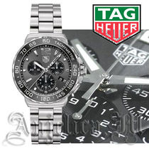 ★人気★TAG HEUER Formula 1 Chronograph Black Dial  Watch