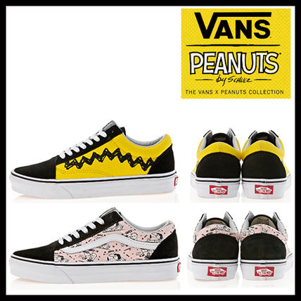 VANS DHL secured shipping THE PEANUTS OLD SKOOL V Snoopy