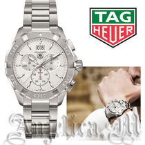 TAG Heuer(タグ・ホイヤー) アナログ時計 ★レア★TAG HEUER Aquaracer Silver Dial Chronograph  Watch