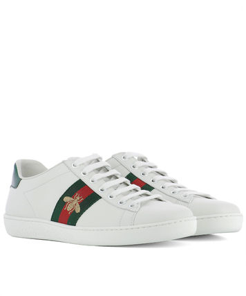 GUCCI b embroidery with the inspired sneakers