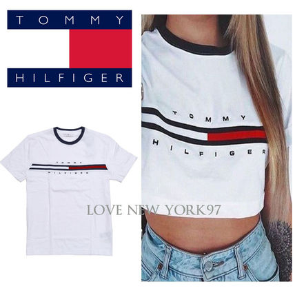 Boom super light popular Tommy Hilfiger logo T shirt with