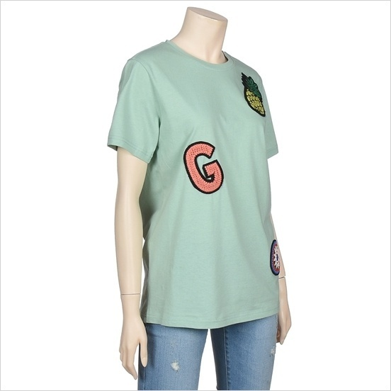 Guess正規品★Handmade Embroidery Patch T-shirt★送料込