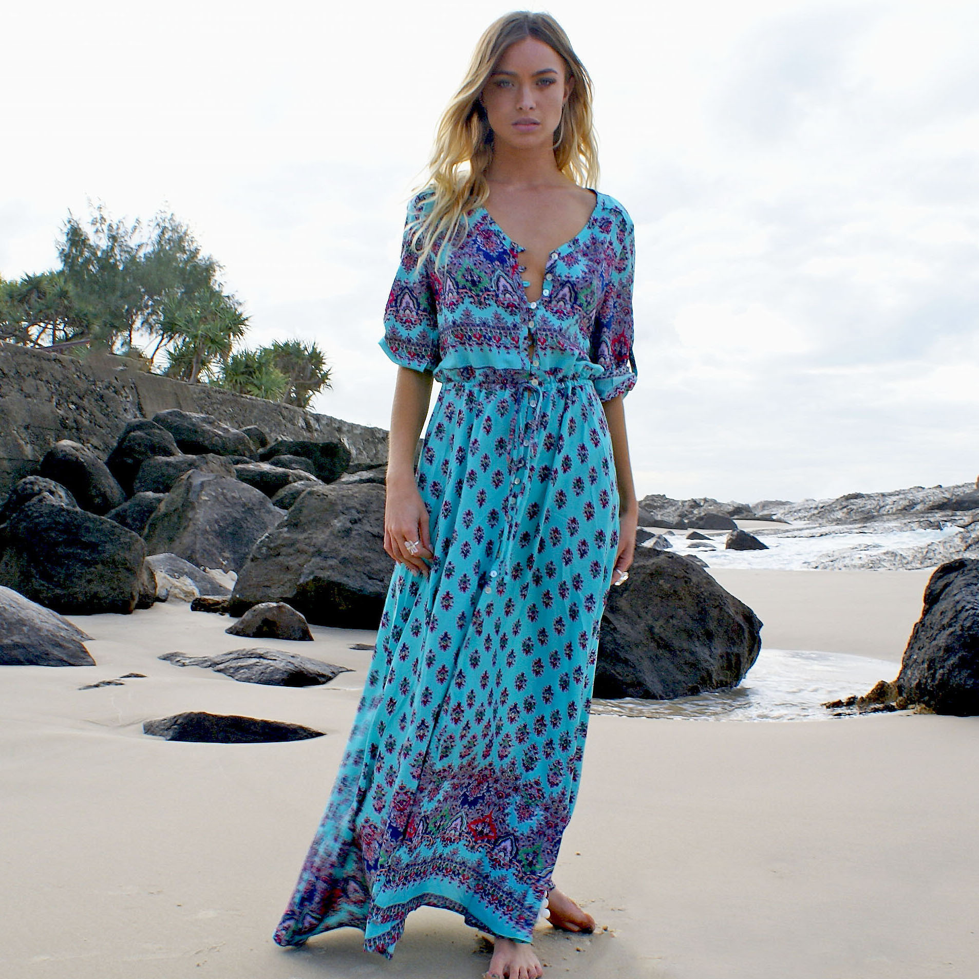 Le Salty LabelRising Oracle Maxi Dress★送料関税込