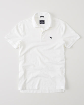 Abercrombie & Fitch ポロシャツ ^^セール【メンズS】アバクロ◆Stretch Icon Polo