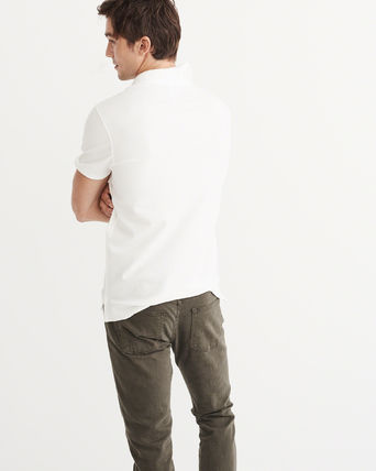 Abercrombie & Fitch ポロシャツ ^^セール【メンズS】アバクロ◆Stretch Icon Polo(3)