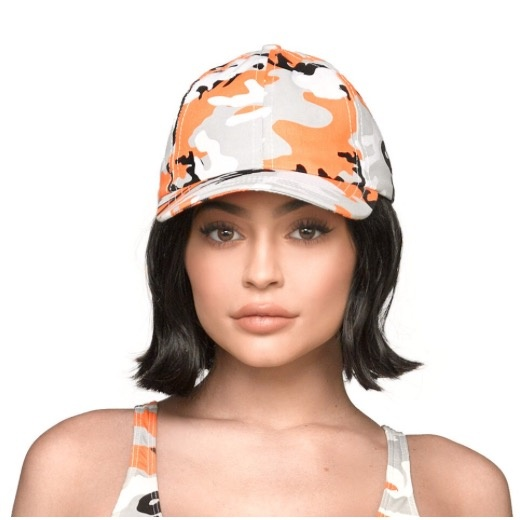 THE  KYLIE SHOP Camo Dad Hat