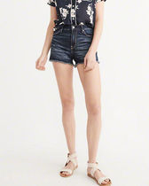 SALE【Abercrombie&Fitch】HighRise Shorts☆デニムショーパン♪