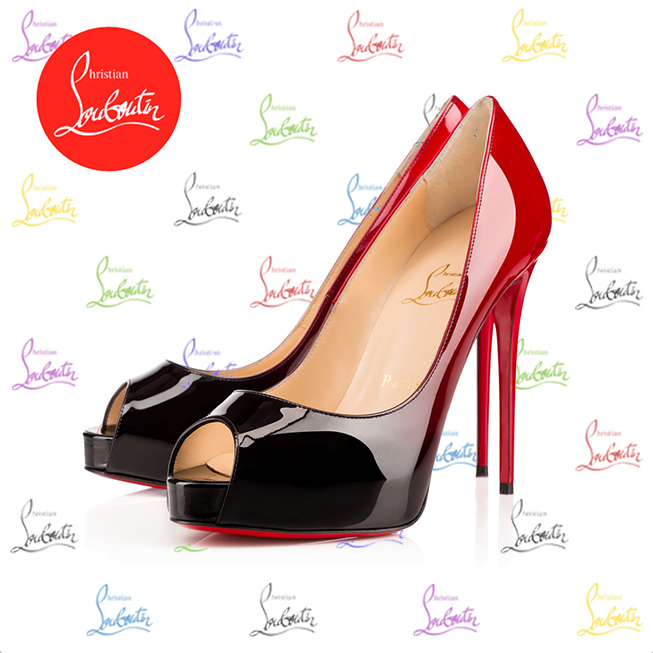 2017SS《Christian Louboutin》New Very Prive Patent Degrade
