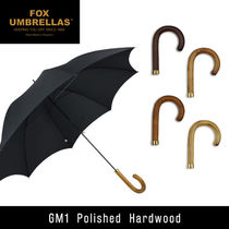 FOX UMBRELLAS Polished Hardwood GM1 ウッドハンドル 長傘