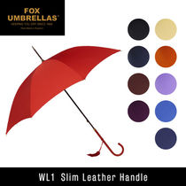 FOX UMBRELLAS Slim Leather Handle WL1 高級 長傘