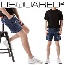 D SQUARED2(ディースクエアード)/メンズ Red Stich Short Jeans