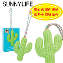 SUNNYLIFE(サニーライフ) 家具・日用品その他 【送関込】SUNNYLIFE★Cactus Soap On A Rope★安心の国内発送