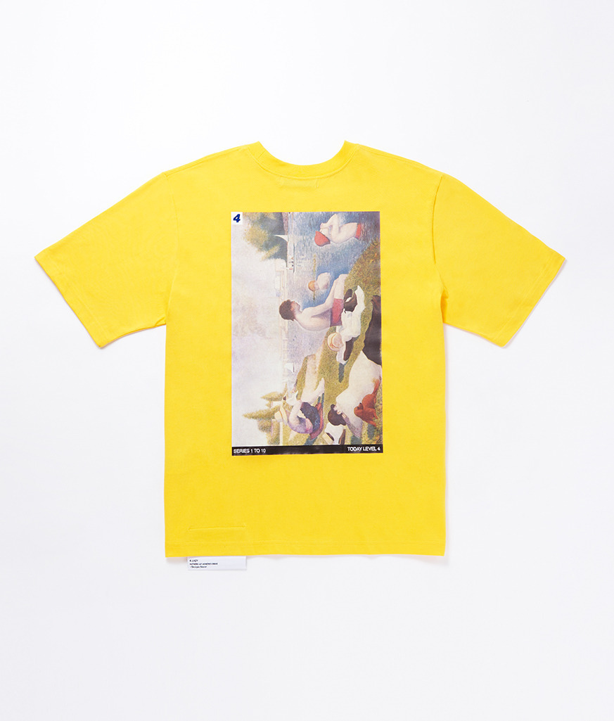 【日本未入荷】★CCRT★'SERIES 1 TO 10 ver.2' T-SHIRT;4.LAZY