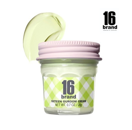 【16brand】16GUROOM CREAM LIME TONE UP《追跡送料込》