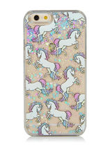 Glitter Unicorn iPhone7Plus iPhone6 SKINNY DIP ケース