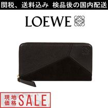★LOEWE(ロエベ)★Puzzle Zip Around Wallet ブラック