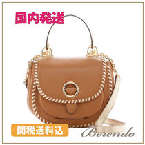 SALE 国内発送 Michael Kors Isadore Leather Saddle バッグ