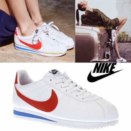 NEW adults also OK Nike Cortez leather popular tricolor