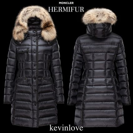 Lovely attire for HERMIFUR 17 / 18 MONCLER down black