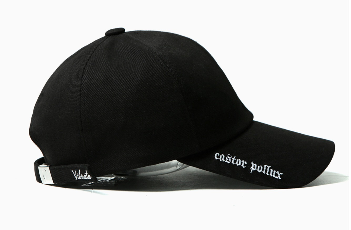 ◆ 数量限定 ◆VIBRATE BLACK LINE - DOUBLE SIDE CAP 全2色
