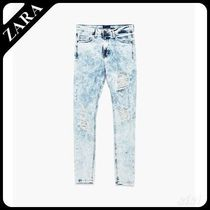 ☆ Men's ZARA☆ FADED RIPPED JEANS
