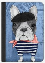 ★Casetify★iPadケース:FRENCHIE WITH ARC DE TRIOMPHE