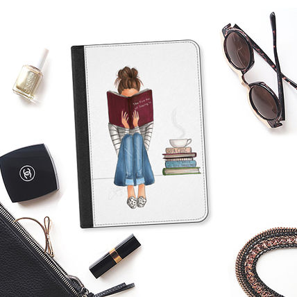 Casetify iPad・タブレットケース ★Casetify★iPadケース:THE FINE ART OF STAYING IN (TRANSPAR(2)