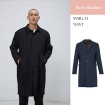 [Acne] March water-repellent rain coat navy 撥水レインコート