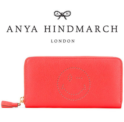 Sale ANYA HINDMARCH Smiley Wink a long wallet