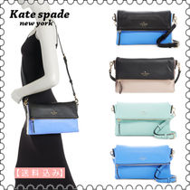 【kate spade】Cobble Hill Marsala Foldover Leather Bag(正規)