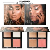 HUDA BEAUTY☆3Dハイライターパレット PINK SAND or GOLD SAND