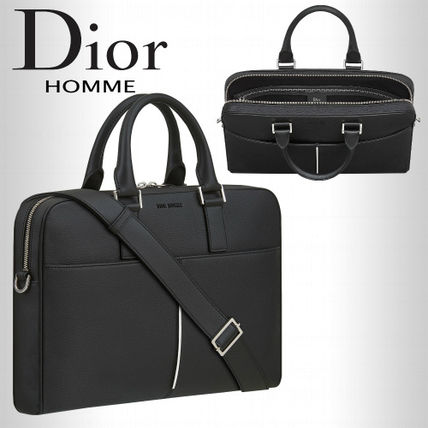 17AW DIOR HOMMEディオールオム コントラストブリーフケース