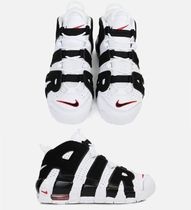 女性もOK☆ Nike☆Air More Uptempo モアテン White / Black