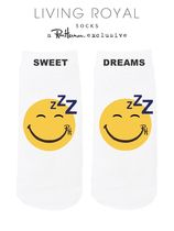 ★US限定★ロンハーマン/Sweet Dreams Emoji Ankle Socks