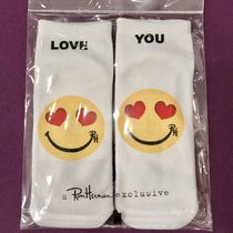 ★US限定★Ron Herman ロンハーマン/LOVE YOU Emoji Ankle Socks