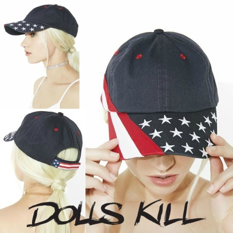 DOLLS KILL USA CAP