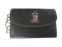COACH x DISNEY Mickey Mouse Key Case F86908