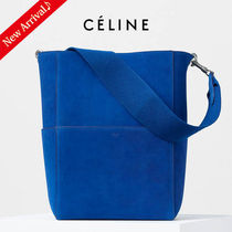 国内即発♪SALE♡CELINE  SEAU SANGLEバッグ,Electric Blue