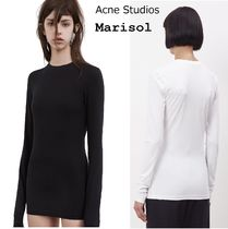 Acne Marisol Cotton Stretch Top ストレッチ長袖トップ2色