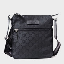★SALE★GUCCI OUTLET ナイロン素材のショルダーバッグ♪ BLACK