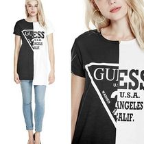 【GUESS】新作★ロング丈TシャツREWORKED