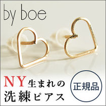 【by boe】ハート ピアス