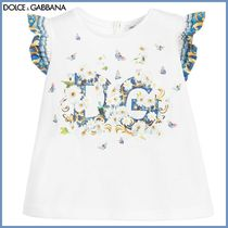 Dolce&Gabbana★Baby Floral ロゴ Tシャツ3-30M★関税込