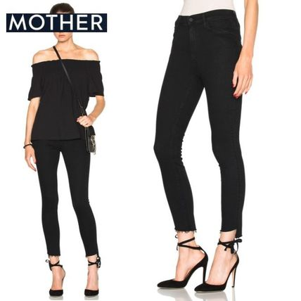 MOTHER デニム・ジーパン ☆ Mother ☆Stunner Zip Ankle Step Fray ジーンズ☆Not Guilty