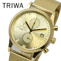 TRIWA トリワ LCST109 ME021313 SORT of BLACK GOLD CHRONOGRAPH
