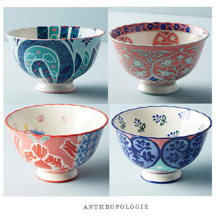 free wrapping Anthropologie large colorful Bowl