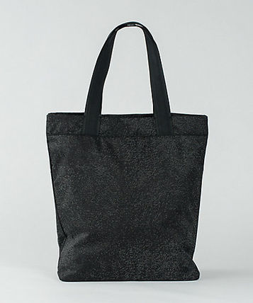Sale of material with tote Double Up Tote Bag wild black